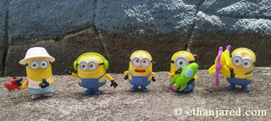 minions, toys, collections, happy meal toys